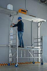 Aluminiowe rusztowania jezdne dla profesjonalistów