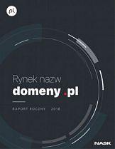 Rynek nazw domeny.pl 2018