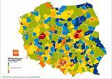 Mapa miesiąca GfK – lokalne różnice w wydatkach na zakupy online