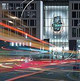 Cyfrowa rzeźba ożywia przestrzeń miejską w centrum Warszawy