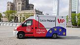 Food truck Wirtualnej Polski w podróży przez Europę