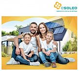 """""""Wybierz instalację Esoleo i płać mniej za prąd"""" - kampania Grupy Polsat promująca ofertę instalacji fotowoltaicznych"""