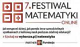 Gazeta Wyborcza zaprasza na 7. edycję Festiwalu Matematyki