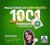 Sylwia Majcher ambasadorką działań Zero Waste w Aldi Polska