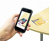 Aplikacja Oki AR Showroom z rzeczywistością rozszerzoną