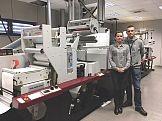 Pierwsza w Europie maszyna Mark Andy Digital Series w drukarni Arti-Bau