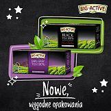 Nowe opakowania herbat marki Big-Active