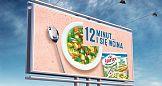Portfolio: Kampania outdoorowa zup mrożonych Hortex