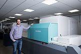 Jet Press 720S: większa wydajność produkcji wizytówek w drukarni Bluetree Group