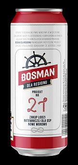 Bosman promuje lokalne inicjatywy społeczne na swoich opakowaniach