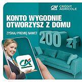 """Credit Agricole promuje akcję """"Otwórz konto w aplikacji"""""""