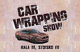 Pokazy oklejania Car Wrapping Show podczas targów Festiwaldruku.pl