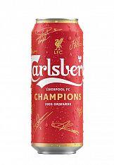 Carlsberg z limitowaną edycją puszek w barwach Liverpool F.C.