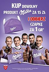 """Akcja promocyjna """"Milka. Sercem z Naszymi"""" w sieci Carrefour"""