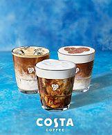 Portfolio: Biteme!concept dla Costa Cofee - komunikacja letniej oferty na 13 krajów