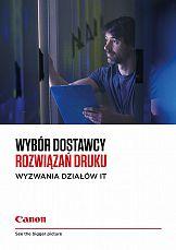 Canon Polska wydaje poradnik poświęcony systemom druku