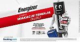 Promocja i kampania Energizer z Booking.com