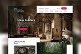 Portfolio: Kohe: Nowa strona dla Fundacji Dziedzictwa Kulturowego