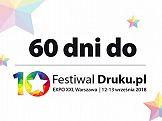 Trwa odliczanie – 60 dni do Festiwaldruku.pl