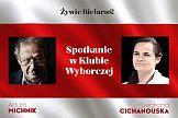 Swiatłana Cichanouska i Adam Michnik o wolności dla Białorusi