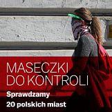 """""""Maseczki do kontroli"""" – specjalna akcja """"Gazety Wyborczej"""" w 20 polskich miastach"""