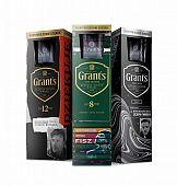 Twardoch, Damięcki i Fisz uwiecznili podziękowania na opakowaniach whisky Grant's