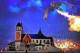 Historia Polski odtworzona z klocków Lego w oprawie projektorów Sony