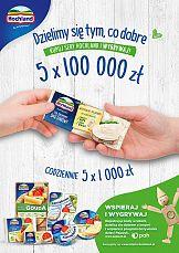 Rusza loteria Hochland, która wspiera Program Pajacyk