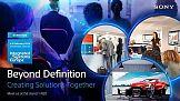 Tworzenie rozwiązań razem z Sony na targach ISE 2018