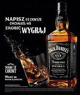 """Portfolio: Jack Daniel's z kampanią i konkursem """"Dziś zdarza się tylko raz"""""""