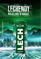 Lechendy mają zimę w garści - kampania Lech Premium