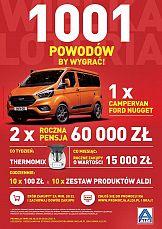 Aldi w Polsce startuje z pierwszą w historii loterią dla klientów