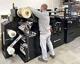 Maszyna Digital Pro 3 firmy Mark Andy w drukarni cyfrowej Printpoint