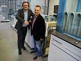 Mazowieckie Centrum Poligrafii użytkownikiem linii roll to stack firmy Hunkeler