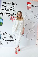 Małgorzata Socha w kampanii marki Emolium
