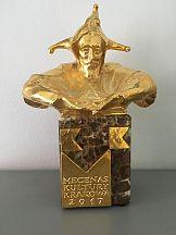 AMS ze złotą statuetką Mecenasa Kultury Krakowa