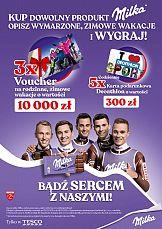 Milka. Cała Polska Sercem z Naszymi – promocje w Tesco i Carrefour