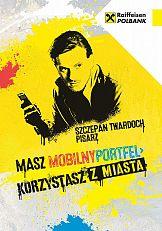 Szczepan Twardoch w kampanii Raiffeisen Polbank