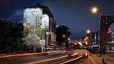 Moliera 2: artystyczny mural zrealizowany w centrum Krakowa