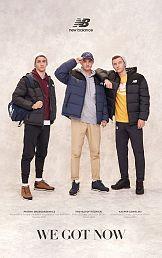 Młodzi sportowcy w lifestyle'owej kampanii marki New Balance