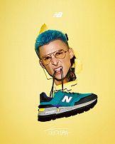 Youtuber Tromba w najnowszej kampanii New Balance