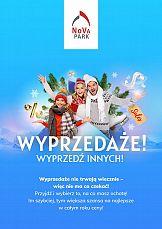 Nova Park w zimowej odsłonie w najnowszej kampanii wizerunkowej