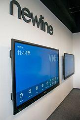 Newline: 3 serie dotykowych monitorów interaktywnych
