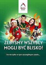 Gwiazdkowa kampania wizerunkowa Nova Park