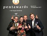 Pentawards: Podwójne zwycięstwo Opus B Brand Design