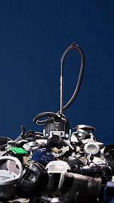 Odkurzacz z odzyskanych materiałów w kampanii Stena Recycling i Electrolux