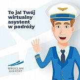 Chatbot Portu Lotniczego Wrocław zna odpowiedzi na kilkaset pytań