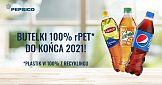 Przełom w Pepsico - butelki wykonane będą w 100%% z rPET do końca 2021 roku