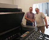 System CTP Kodak Trendsetter Q 800 F Speed i bezprocesowe płyty Kodak Sonora X od Avargraf w drukarni Poligrafia