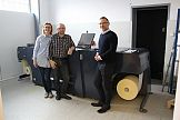 Accurio Label 190 firmy Konica Minolta w drukarni Poli-Plus z Gdańska